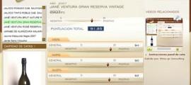 JANE VENTURA GRAN RESERVA VINTAGE 2007 - 91.85 PUNTOS EN WWW.ECATAS.COM POR JOAQUIN PARRA WINE UP
