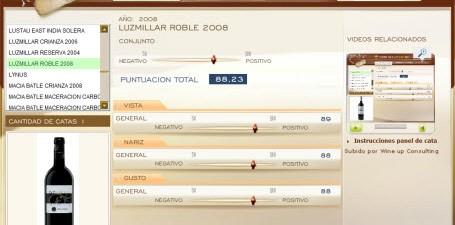 LUZMILLAR ROBLE 2008 - 88.23 PUNTOS EN WWW.ECATAS.COM POR JOAQUIN PARRA WINE UP