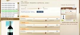 LEALTANZA RESERVA ESPECIAL 2001 - 92,62 PUNTOS EN WWW.ECATAS.COM POR JOAQUIN PARRA WINE UP