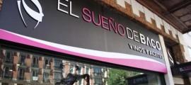 Escaparate Calle Goya 32 El Sueno de Baco