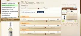 VIÑA ALJIBES BLANCO 2011 - 89.38 PUNTOS EN WWW.ECATAS.COM POR JOAQUIN PARRA WINE UP