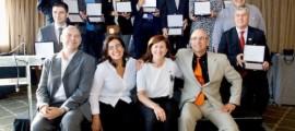 Foto de familia premiados