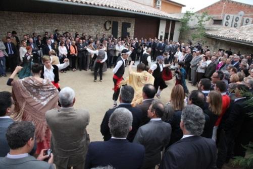 Baile tradicional en la inauguración de LAFOU CELLER