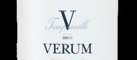 Verum_tempranillo V reserva de familia
