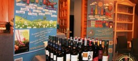 Wine Up Tour, vinos