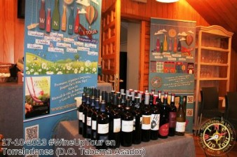 Wine Up Tour, vinos