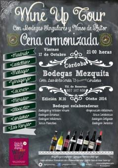 Wine Up Tour en Bodegas Mezquita, Córdoba