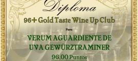 GOLD TASTE 96+ WUC - VERUM AGUARDIENTE GW