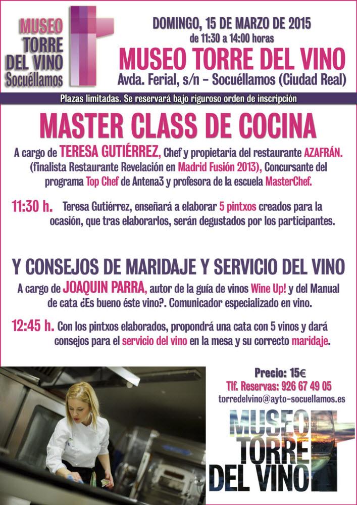 CARTEL MASTER CLASS COCINA - copia - copia