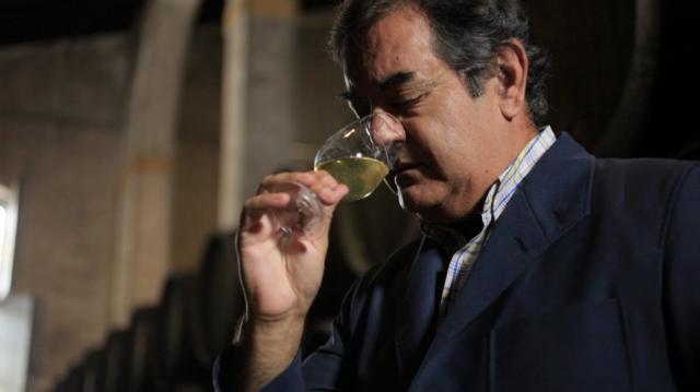 Manuel Lozano. IWC Best Fortified Winemaker 2015