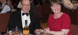 HSH Prince Albert II of Monaco and Katherine Stephenson of The Marine Conservation Society_b
