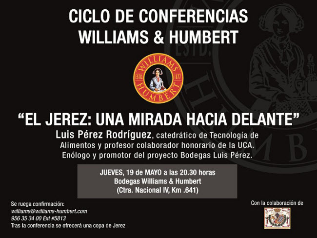CICLO CONFERENCIAS W&H Luis Pérez